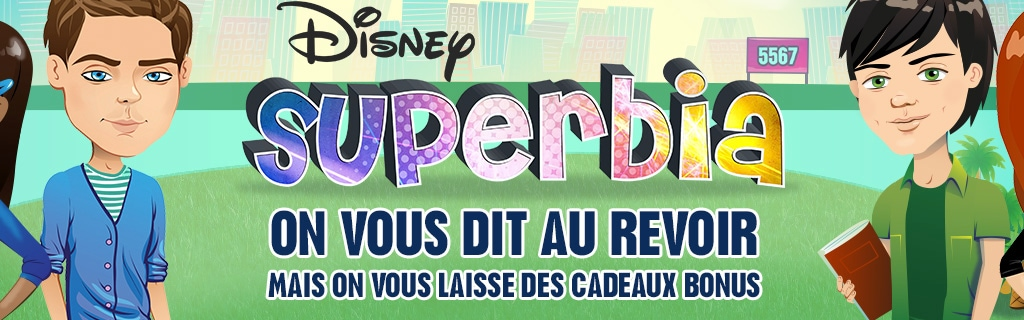 Cool fr disney channel superbia site hero with cree ta maison for Cree ta maison