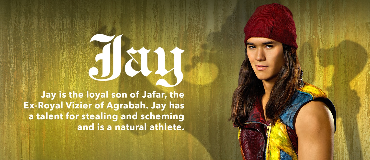 Descendants Character Slider Jay - SG
