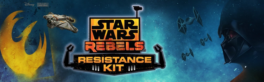 Star Wars Rebels - Rebel Resistance Kit section - universal hero