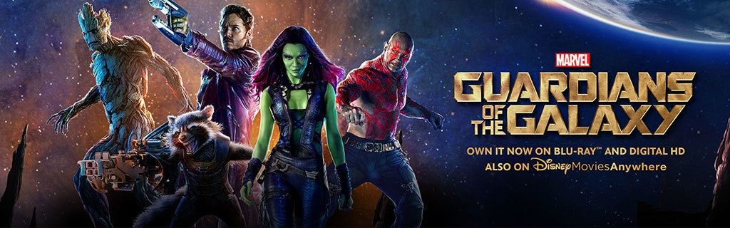 Guardians of the Galaxy - Own It Now on Blu-ray™ & Digital HD Also on DisneyMoviesAnywhere