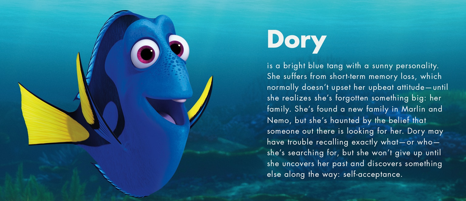 Finding Dory - Dory character - SG