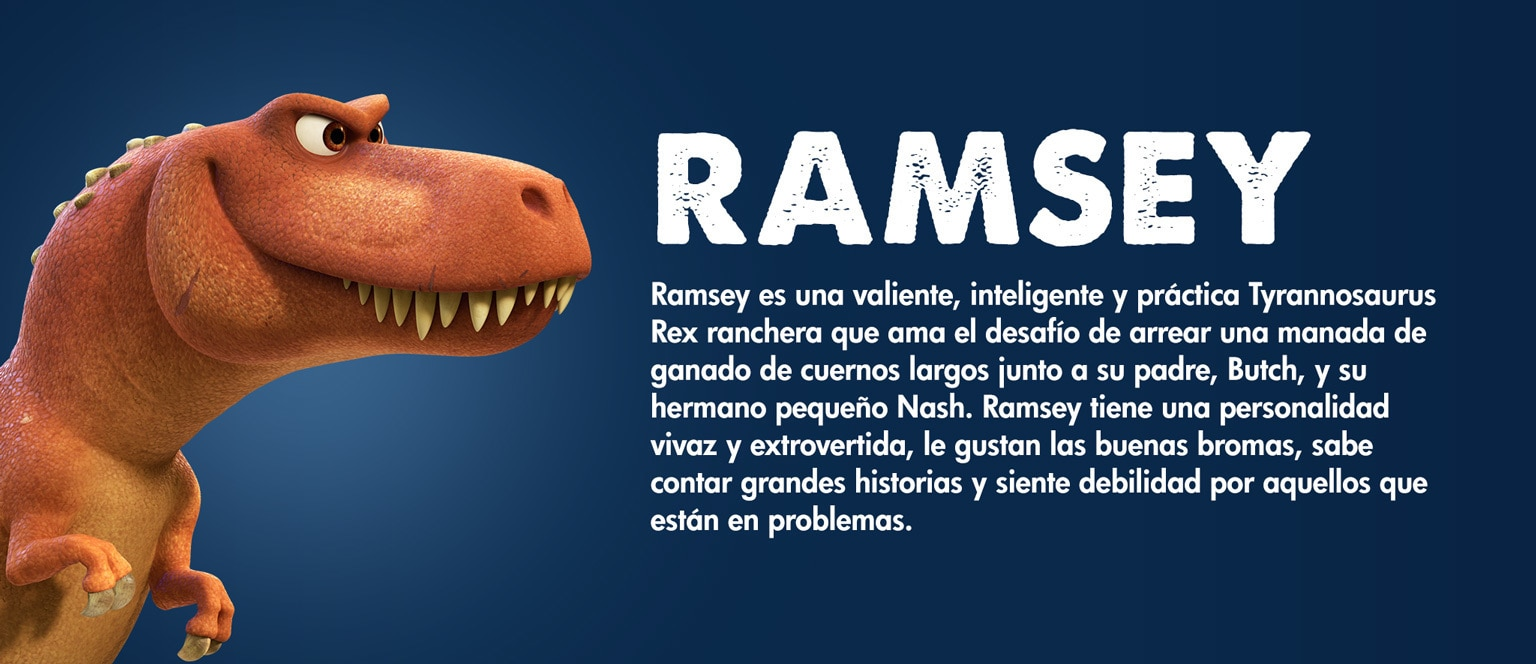 The Good Dinosaur - Character - Ramsey - Aja