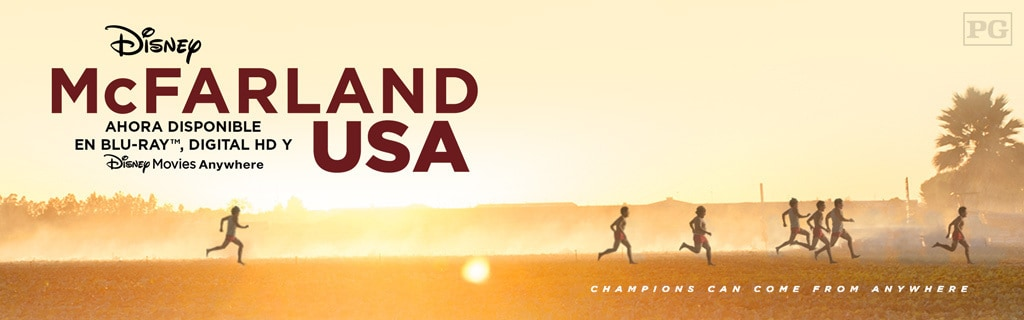 McFarland USA - Aja Site - Now Available