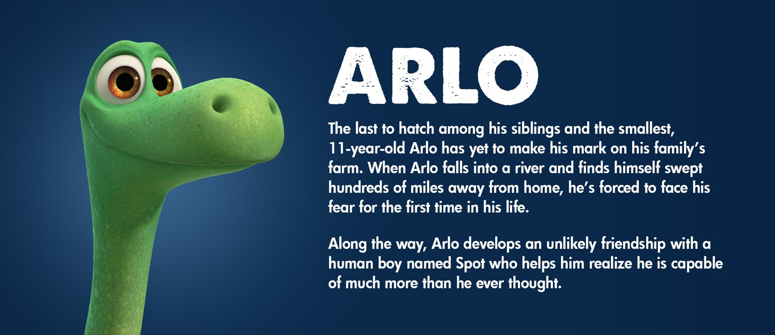 The Good Dinosaur Character Arlo - MY