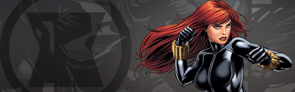 BLACK WIDOW Character Page Hero NEW NO