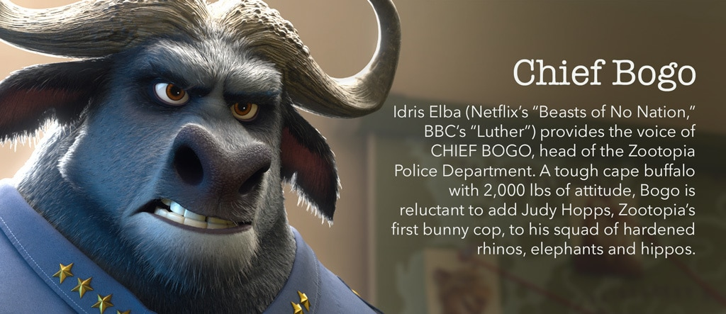 Zootopia - Chief Bogo Character - PH