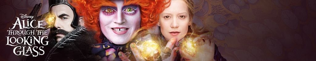 Alice Through The Looking Glass - Site Link (Short Hero)