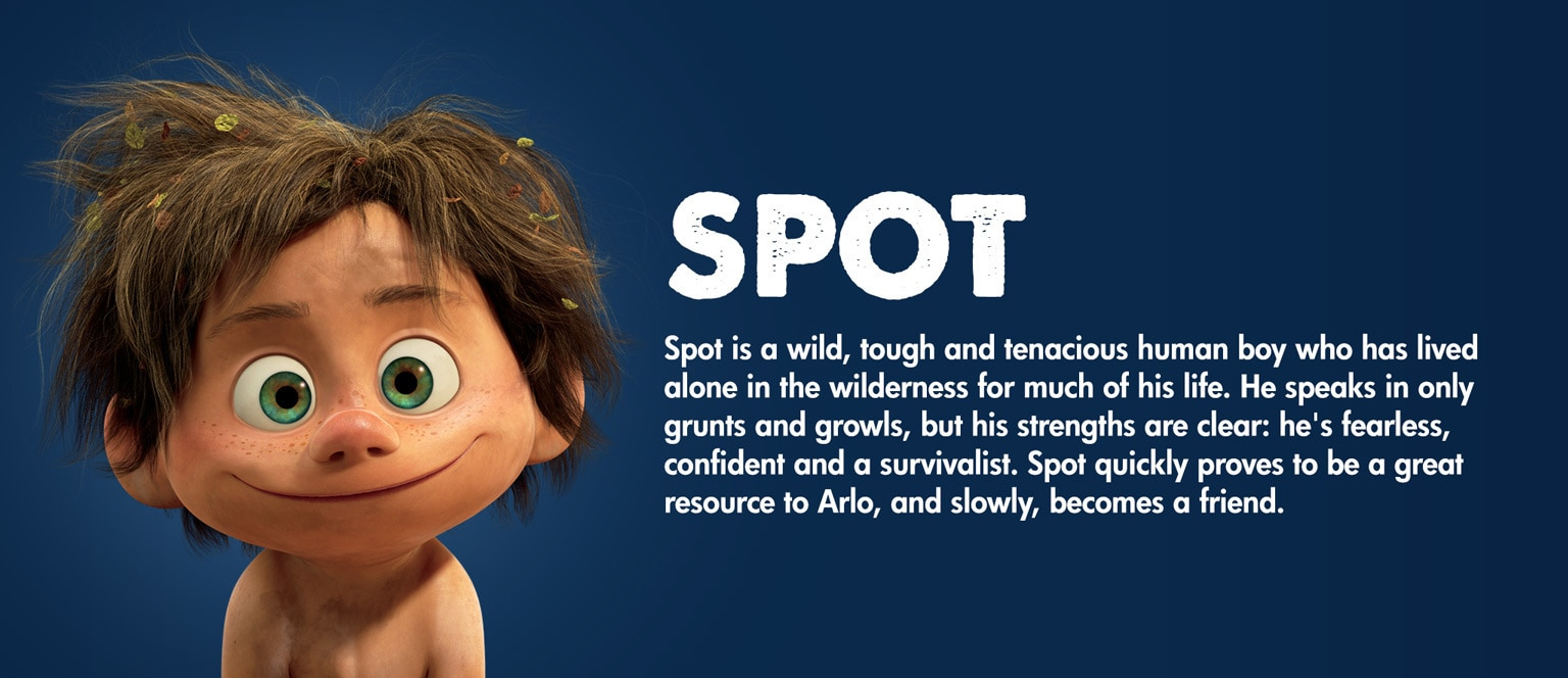 The Good Dinosaur Character Spot - SG