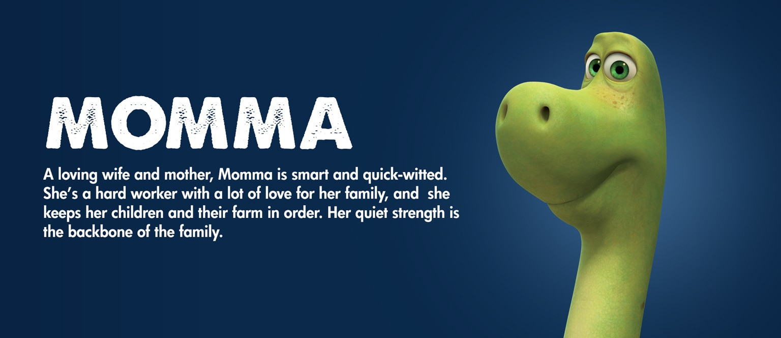 The Good Dinosaur Character Momma - MY