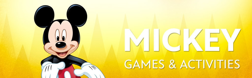 Mickey Character Page - Games & Activities hero