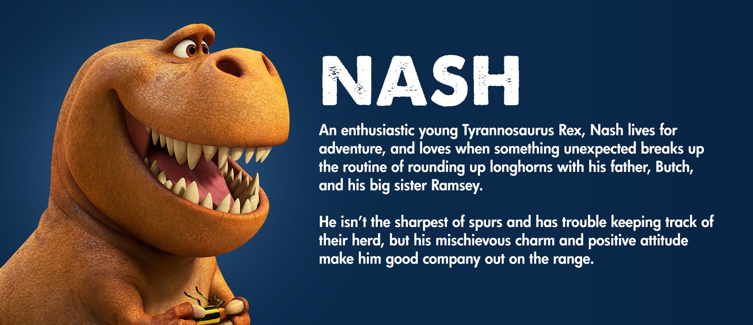 The Good Dinosaur Character Nash - MY