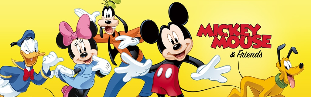 Mickey Mouse & Friends - Characters hero