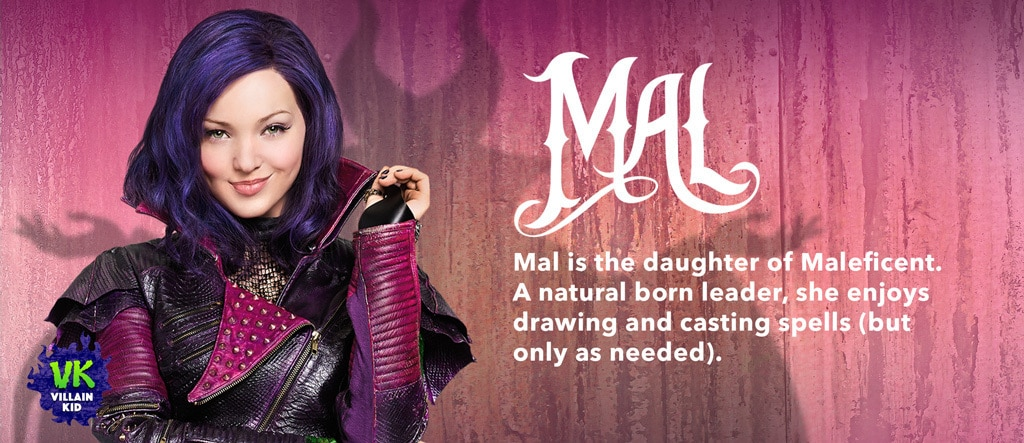 Descendants - Movie Homepage - Character Slider - Mal