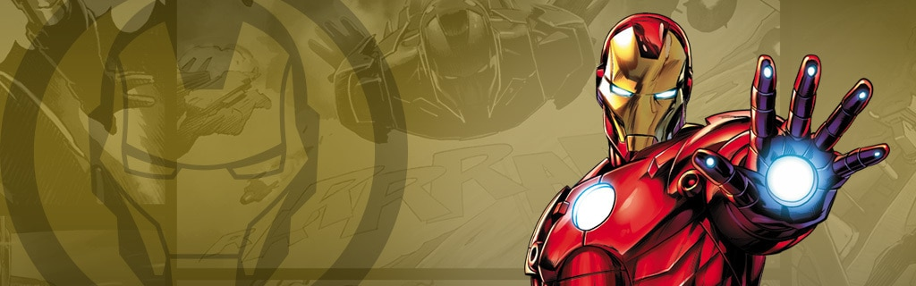 Iron Man Character Page Hero NEW