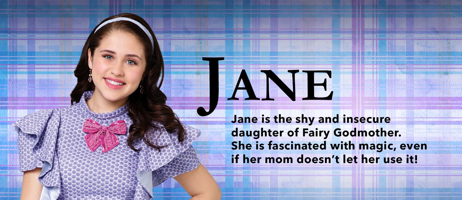 Descendants Character Slider Jane - SG