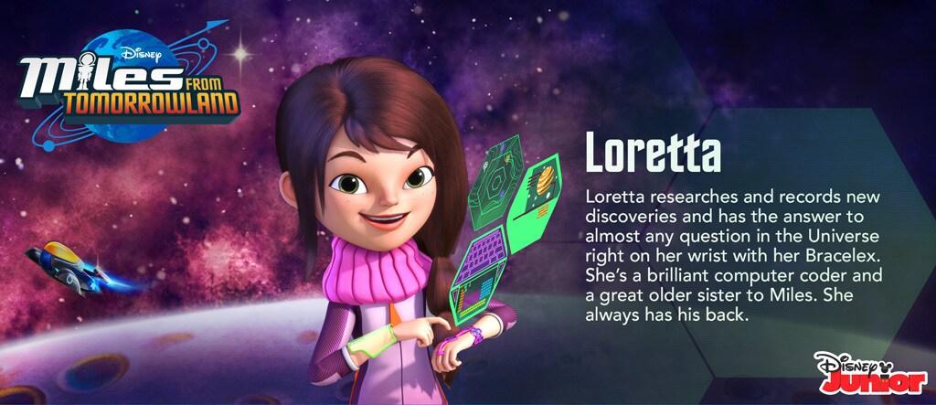 Miles From Tomorrowland - Loretta Hero