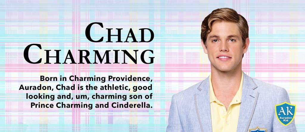 Descendants - Movie Homepage - Character Slider - Chad