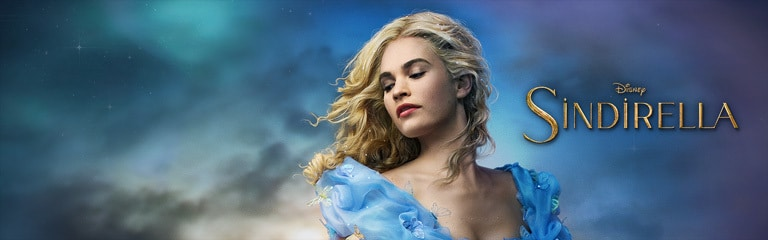 Cinderella (Live Action) - Movie Site Header