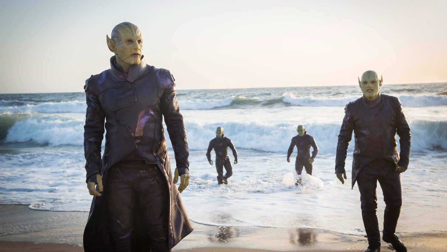 Skrulls in Captain Marvel