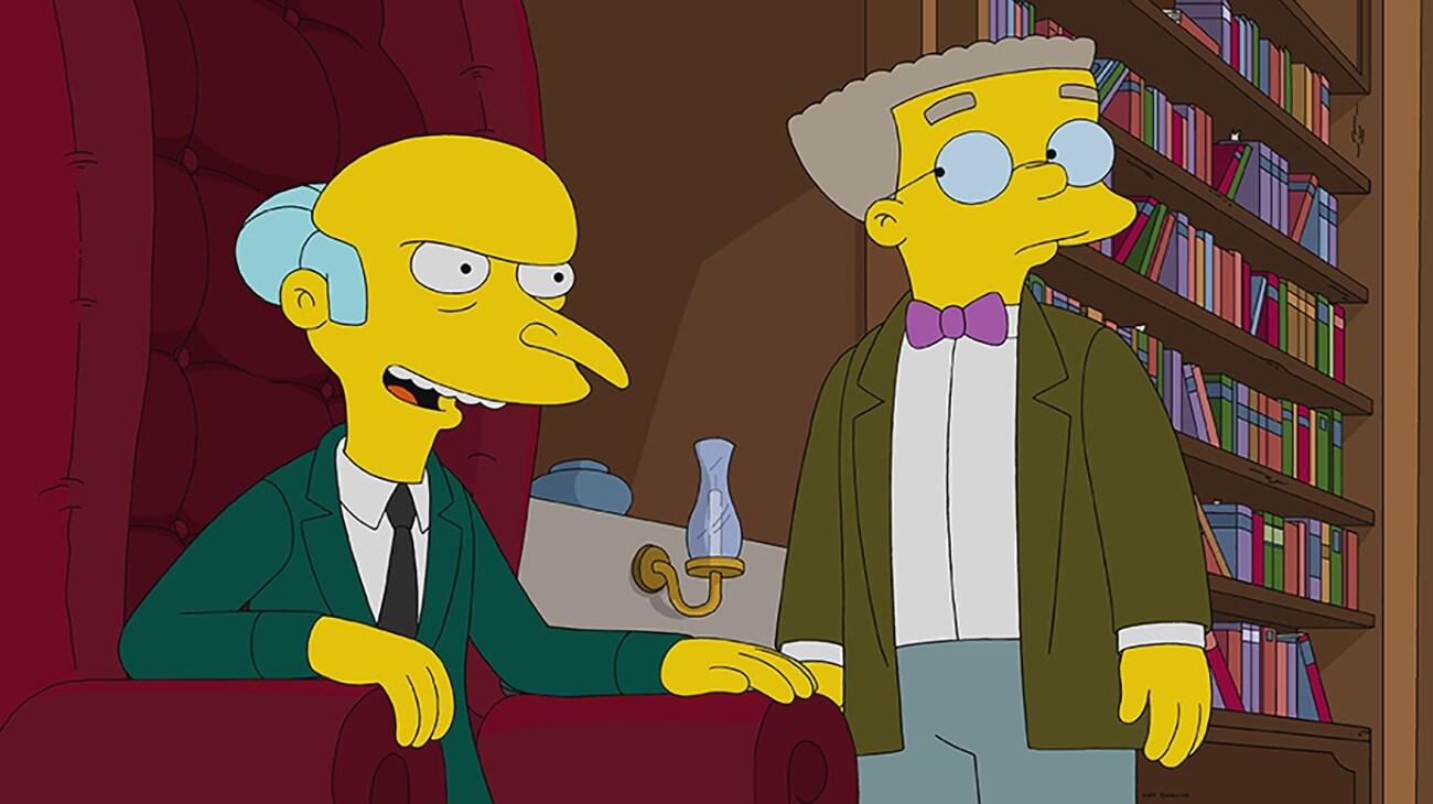 Sr. Burns y Smithers
