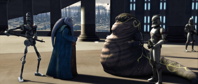 Orn Free Taa and Ziro the Hutt