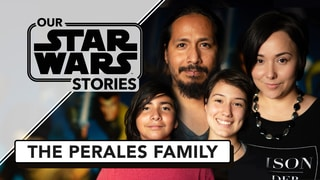 The Perales Family and the Binding Force of Star Wars - Our Star Wars Stories