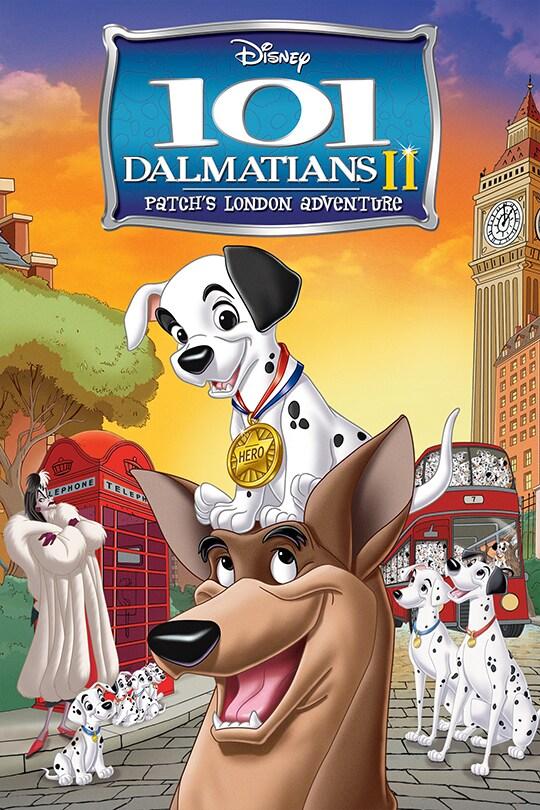 101 Dalmatians II Patch's London Adventure Movie Poster