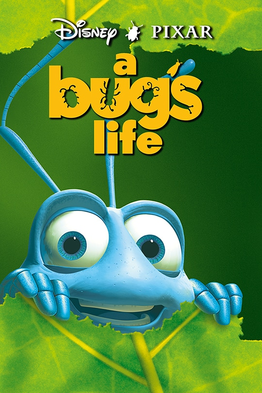 Flik in Disney-Pixar A Bug's Life movie poster