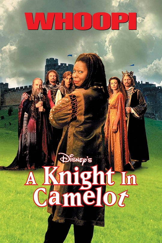 Whoopi in Disney's A Knight In Camelot movie poster