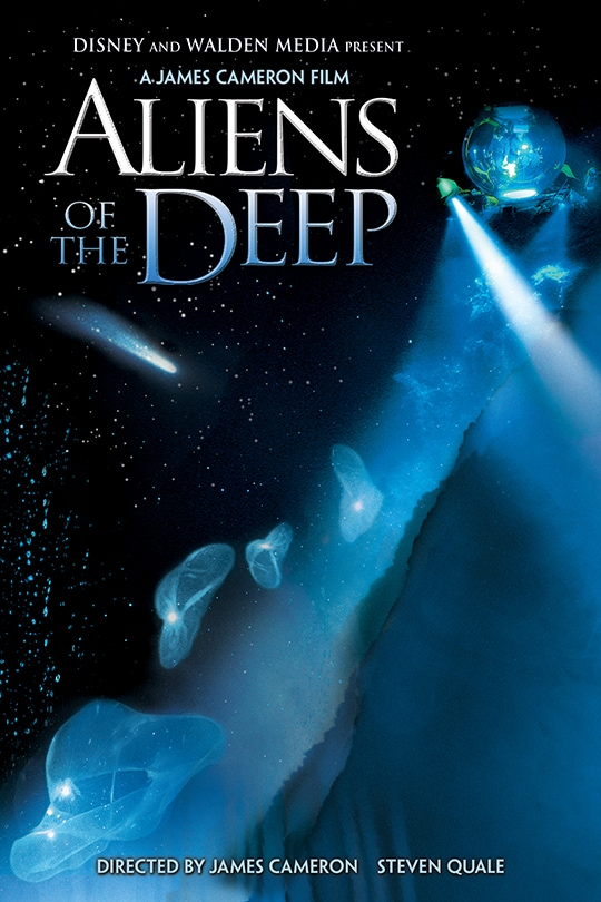 A James Cameron Film | Aliens of the Deep | movie poster