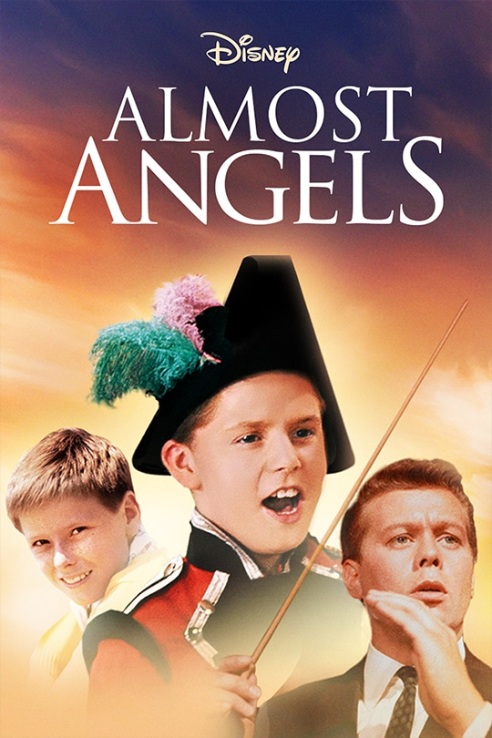Disney Almost Angels movie poster