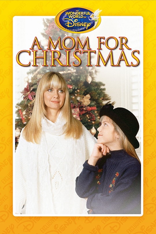 Wonderful World of Disney, A Mom for Christmas movie poster