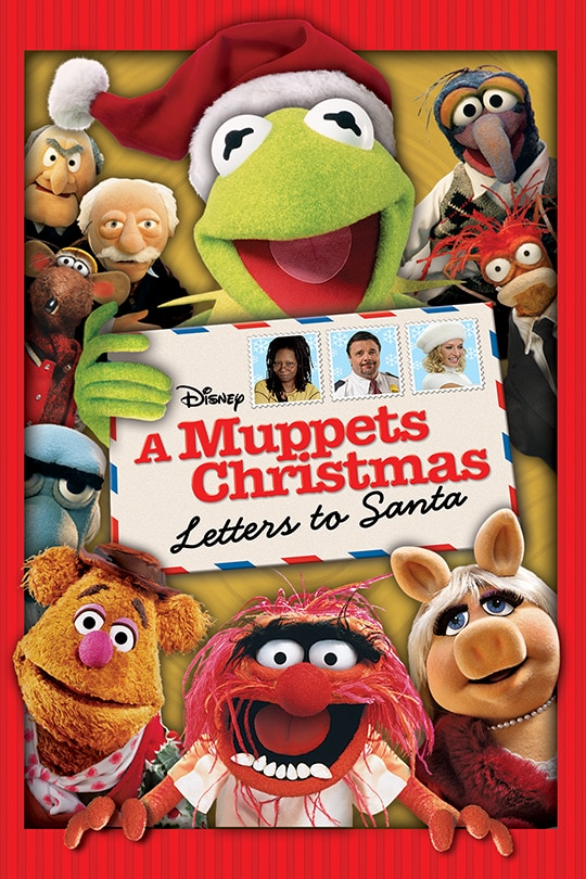 A Muppets Christmas Letters to Santa Movie Poster