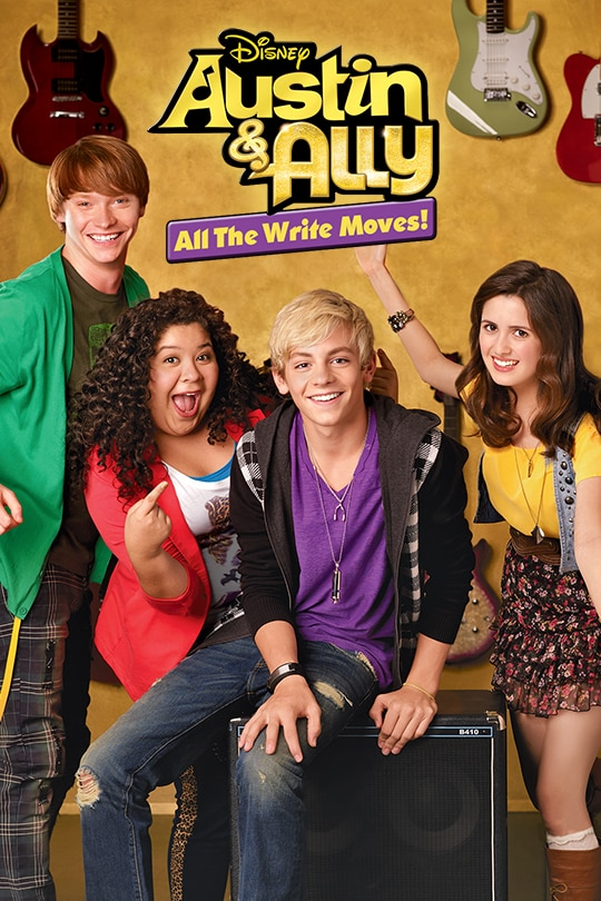 Disney | Austin & Ally | All The Write Moves poster