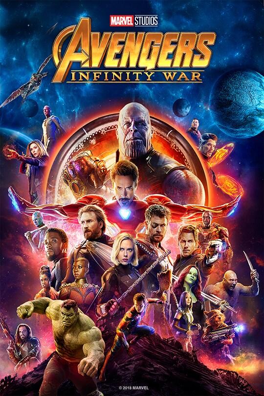 Avengers Infinity War Disney Movies