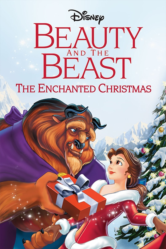 Disney Beauty and the Beast: The Enchanted Christmas movie poster