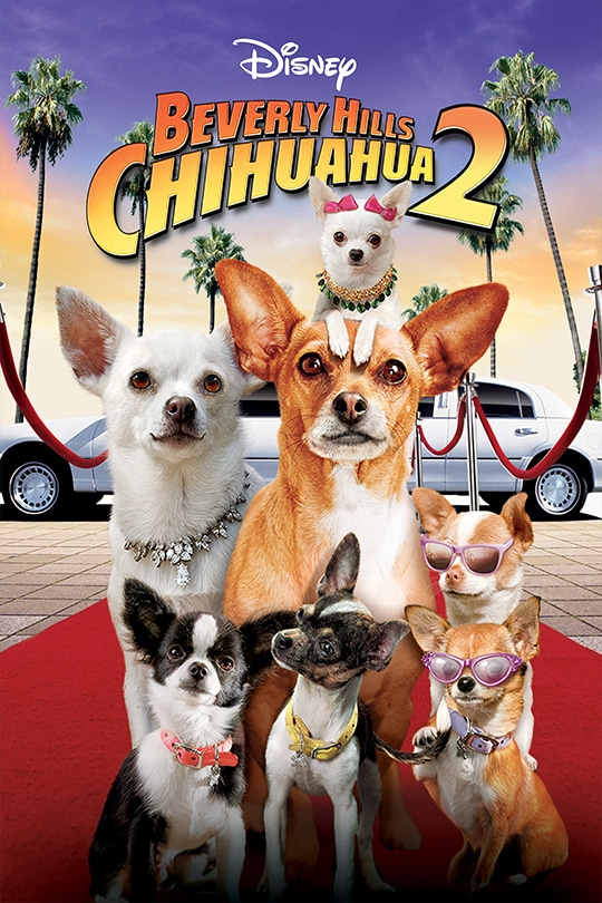 Disney | Beverly Hills Chihuahua 2 movie poster
