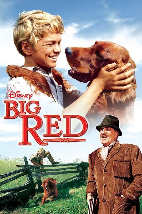 Disney Big Red movie poster