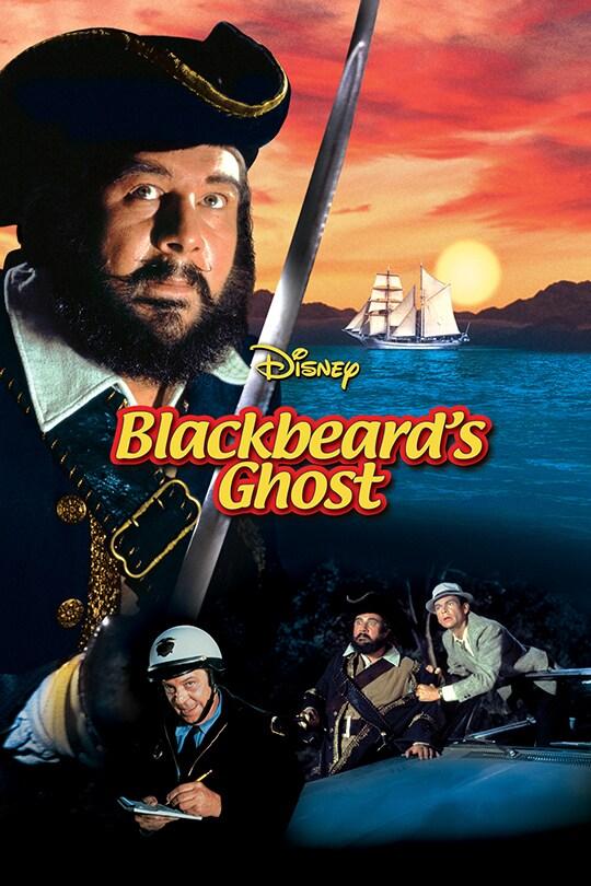 Disney Blackbeard's Ghost movie poster