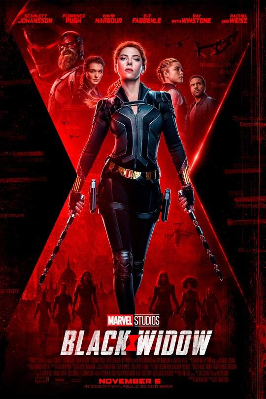 Marvel Studios Black Widow. November 6.