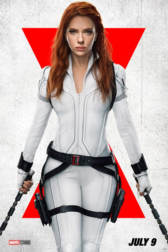 Marvel Studios Black Widow. July 9.