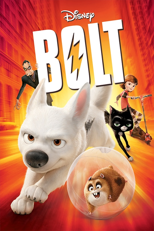 Bolt movie poster