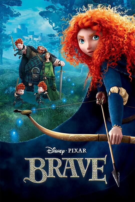 Disney and Pixar's Brave poster