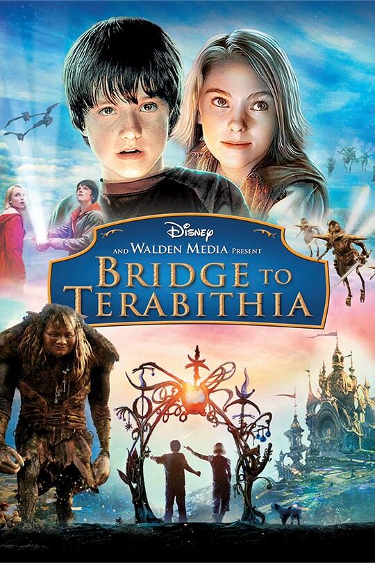 Bridge to Terabithia movie poster