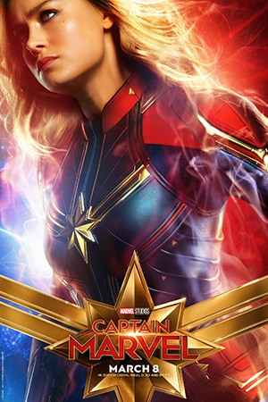 Captain Marvel - Character Poster - Brie
