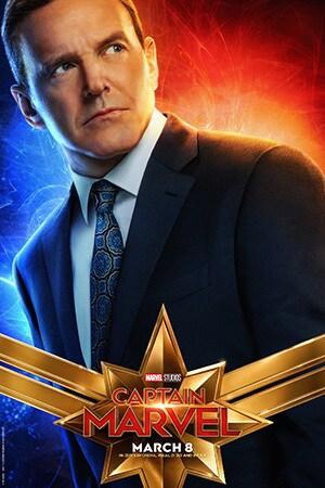 Captain Marvel - Character Poster - Clark