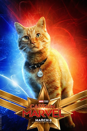 Captain Marvel - Character Poster - Goose