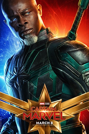 Captain Marvel - Character Poster - Djimon