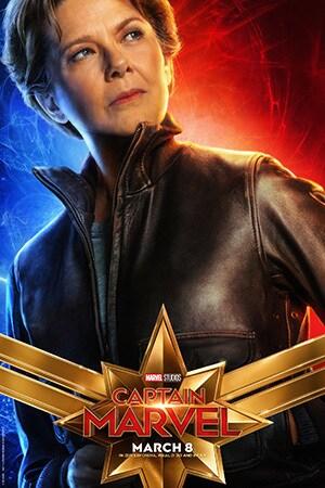 Captain Marvel - Character Poster - Annette