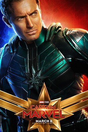 Captain Marvel - Character Poster - Jude